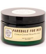 The Parkdale Butter Company Citrus Cedar Hemp Butter