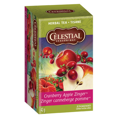 Celestial Seasonings Cranberry Apple Zinger Tea